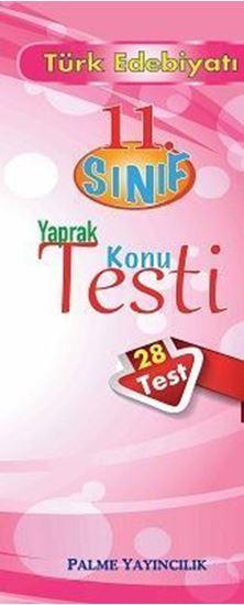 resm 11.Sınıf Türk Edebiyatı Yaprak Konu Testi (28 Test)