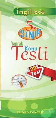 Resim 5.Sınıf İngilizce Yaprak Konu Testi (22 Test)
