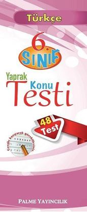 Resim 6.Sınıf Türkçe Yaprak Konu Testi (48 Test)