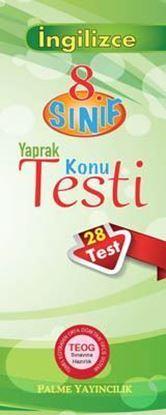 Resim 8.Sınıf İngilizce Yaprak Testi (28 Test)