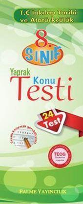 Resim 8.Sınıf T.C. İnkılap Tarihi ve Atatürkçülük Yaprak Konu Testi (24 Test)