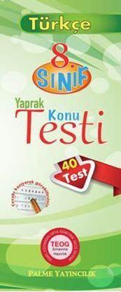 Resim 8.Sınıf Türkçe Yaprak Konu Testi (40 Test)