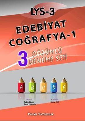 Resim LYS-3 Edebiyat - Coğrafya-1 3 Çözümlü Deneme Seti