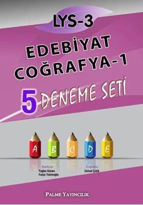 Resim LYS-3 Edebiyat - Coğrafya-1 5 Deneme Seti