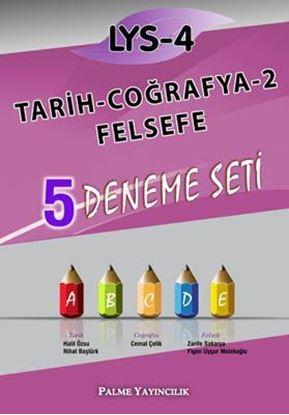 Resim LYS-4 Tarih - Coğrafya-2 - Felsefe 5 Deneme Seti