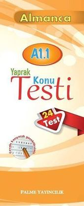 Resim ALMANCA YAPRAK TEST A1.1 (24 TEST)