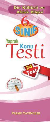 Resim 6.SINIF DİN KÜLTÜRÜ VE AHLAK BİLGİSİ YAPRAK TEST(24 TEST)