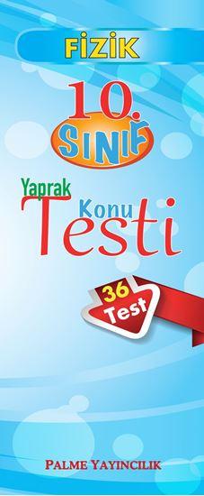 resm 10.SINIF FİZİK YAPRAK TEST(36 TEST)