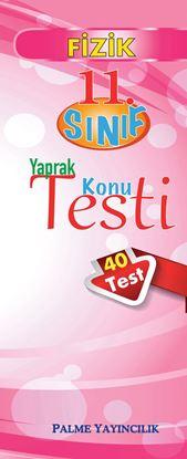 Resim 11.SINIF FİZİK YAPRAK TEST(40 TEST)