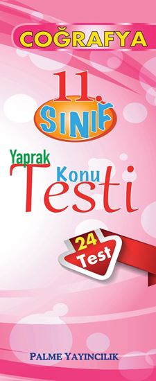 resm 11.SINIF COĞRAFYA YAPRAK TEST (24 TEST)