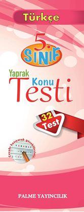 Resim 5.SINIF TÜRKÇE YAPRAK TEST(32 TEST)
