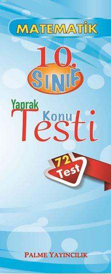 resm 10.SINIF MATEMATİK YAPRAK TEST(72 TEST)