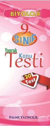 Resim 9.SINIF BİYOLOJİ YAPRAK TEST(20 TEST)