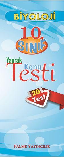 resm 10.SINIF BİYOLOJİ YAPRAK TEST(20 TEST)