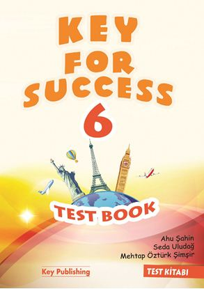 Resim KEY FOR SUCCESS 6 TEST BOOK