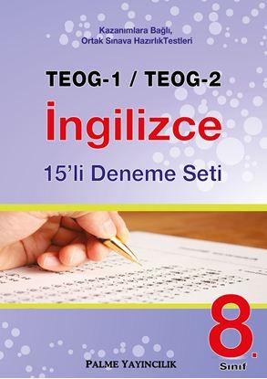 Resim TEOG-1/TEOG-2 İNGİLİZCE 15'Lİ DENEME SETİ