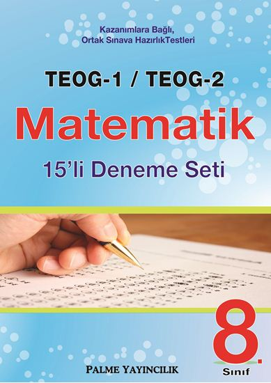 resm TEOG-1 & TEOG-2 MATEMATİK 15'Lİ DENEME SETİ