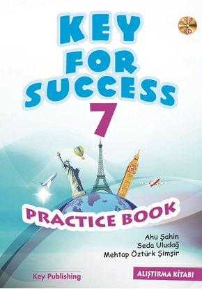 Resim KEY FOR SUCCESS 7 PRACTICE BOOK