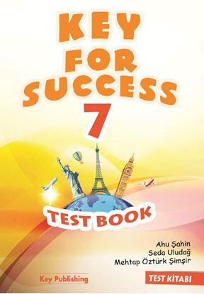 Resim KEY FOR SUCCESS 7 TEST BOOK