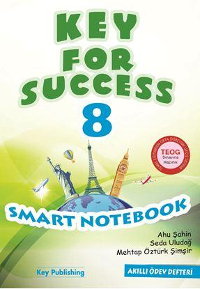 Resim KEY FOR SUCCESS 8 SMART NOTEBOOK