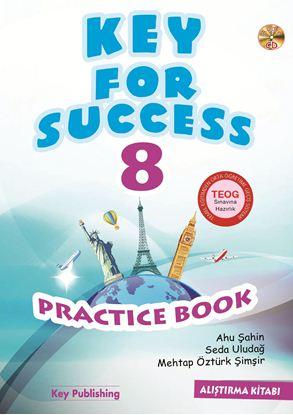 Resim KEY FOR SUCCESS 8 PRACTICE BOOK