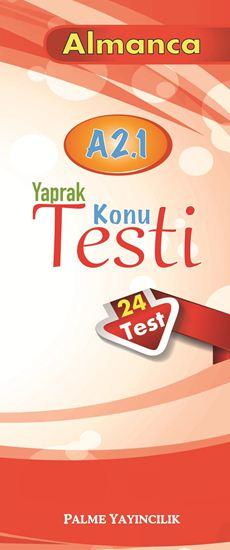 resm ALMANCA YAPRAK TEST A 2.1 ( 24 TEST )
