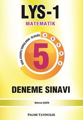 Resim LYS-1 MATEMATİK 5 DENEME SETİ
