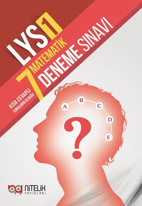Resim LYS-1 MATEMATİK 7 DENEME SINAVI ( NİTELİK )