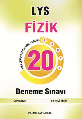 Resim LYS FİZİK 20 DENEME SINAVI