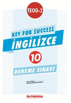 Resim KEY FOR SUCCESS TEOG-2 İNGİLİZCE DENEME