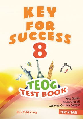 Resim KEY FOR SUCCESS 8.SINIF TEOG TEST BOOK
