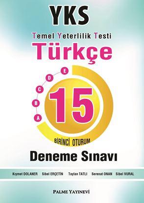 Resim YKS TYT TÜRKÇE 15  DENEME ( 1. OTURUM )