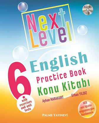 Resim 6.SINIF  NEXT LEVEL ENGLISH PRACTICE BOOK KONU KİTABI