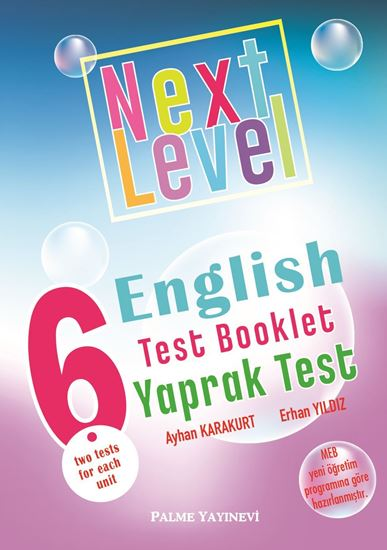 resm 6.SINIF NEXT LEVEL ENGLISH TEST BOOKLET YAPRAK TEST