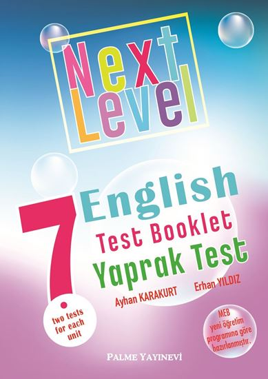 resm 7.SINIF NEXT LEVEL ENGLISH TEST BOOKLET YAPRAK TEST