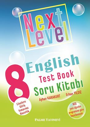 Resim 8.SINIF NEXT LEVEL ENGLISH TEST BOOK SORU KİTABI