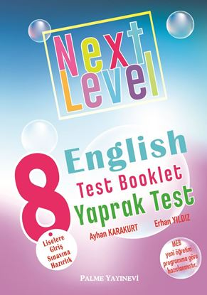 Resim 8.SINIF NEXT LEVEL ENGLISH TEST BOOKLET YAPRAK TEST