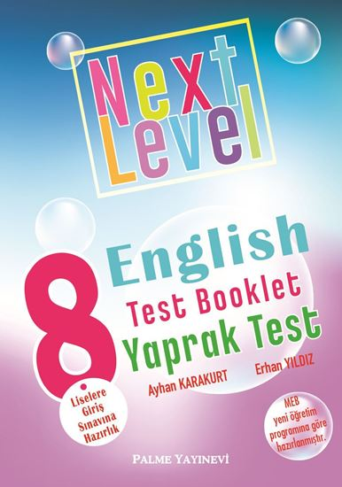 resm 8.SINIF NEXT LEVEL ENGLISH TEST BOOKLET YAPRAK TEST
