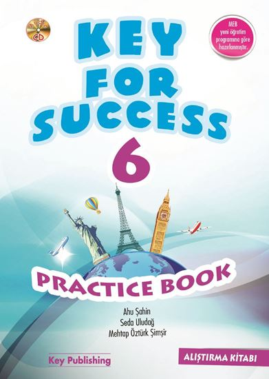 resm KEY FOR SUCCESS 6 PRACTICE BOOK