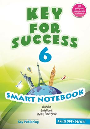 Resim KEY FOR SUCCESS 6 SMART NOTEBOOK