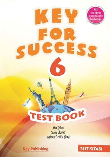 resm KEY FOR SUCCESS 6 TEST BOOK