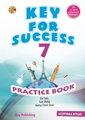 Resim KEY FOR SUCCESS 7 PRACTICE BOOK