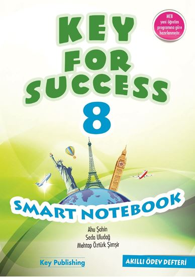 resm KEY FOR SUCCESS 8 SMART NOTEBOOK