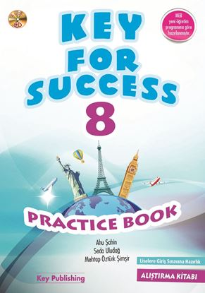Resim KEY FOR SUCCESS 8 PRACTICE BOOK