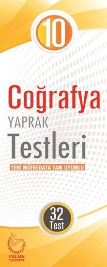 resm 10.SINIF COĞRAFYA YAPRAK TEST ( 32 TEST )