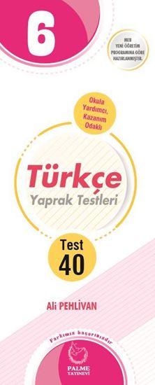 resm 6.SINIF TÜRKÇE YAPRAK TEST ( 40 TEST )