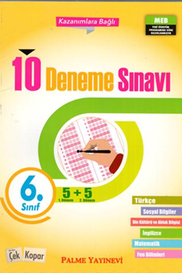 resm 6.SINIF 10 DENEME SINAVI