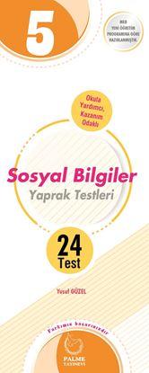 Resim 5.SINIF SOSYAL BİLGİLER YAPRAK TEST ( 24 TEST )