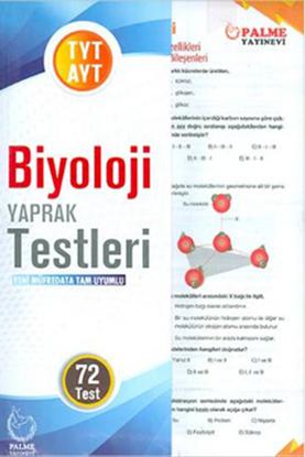 Resim YKS TYT-AYT BİYOLOJİ YAPRAK TESTLERİ  ( 72 TEST )