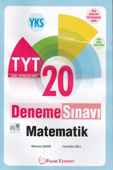 resm YKS TYT MATEMATİK 20 DENEME SINAVI